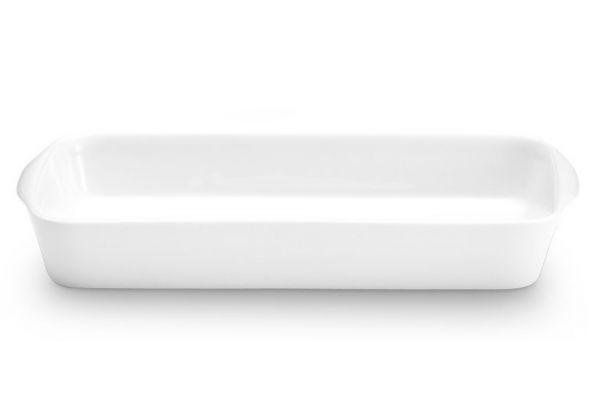 Pillivuyt Porcelain 3 Qt. Large Rectangular Bakers - 220335BL