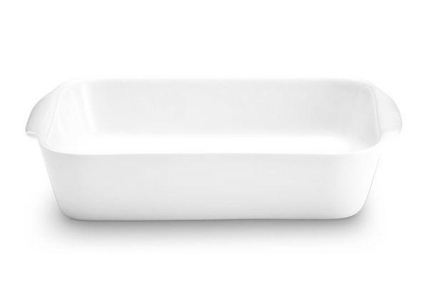 Large image of Pillivuyt Porcelain 1.5 Qt. Large Square Bakers - 220425BL