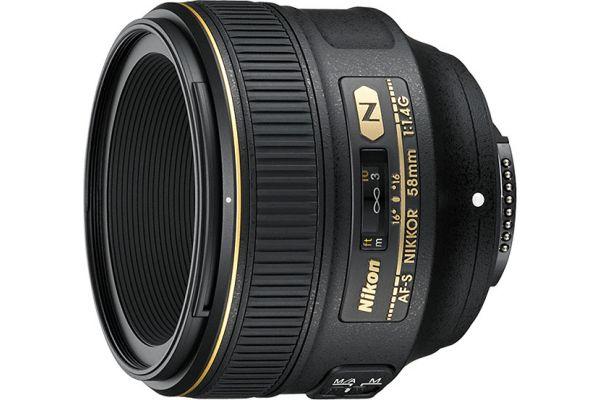 Large image of Nikon AF-S NIKKOR 58mm f/1.4G Lens - 2210