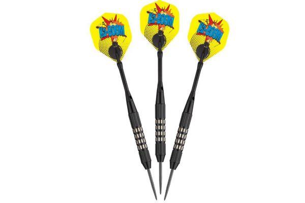Large image of Viper By GLD Comix Steel Black Tip Darts - 22-1501-22