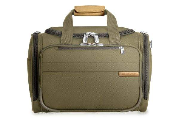 Large image of Briggs & Riley Baseline Olive Cabin Duffle - 221-7