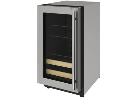 U-Line - U-2218BEVS-15A - Wine Refrigerators and Beverage Centers