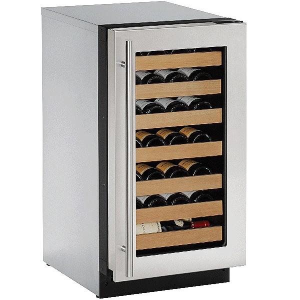 U Line 18 Stainless Wine Captain Cooler U 2218wcs 00b