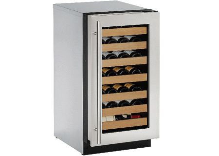 U-Line - U-2218WCS-00B - Wine Refrigerators and Beverage Centers