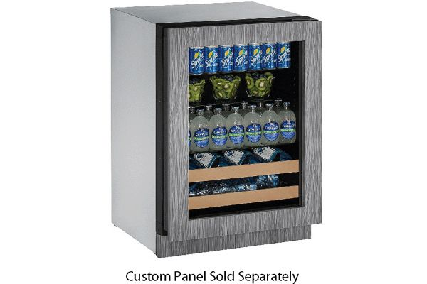 "U-Line 24"" 2000 Series Panel Ready Beverage Center - U-2224BEVINT-00B"