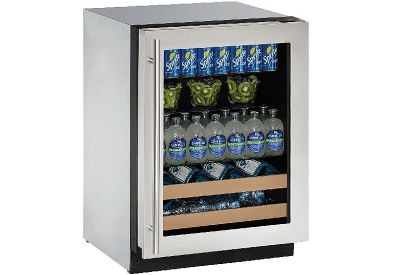 U-Line - U-2224BEVS-00B - Wine Refrigerators and Beverage Centers
