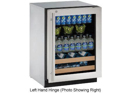 U-Line - U-2224BEVS-15B - Wine Refrigerators and Beverage Centers