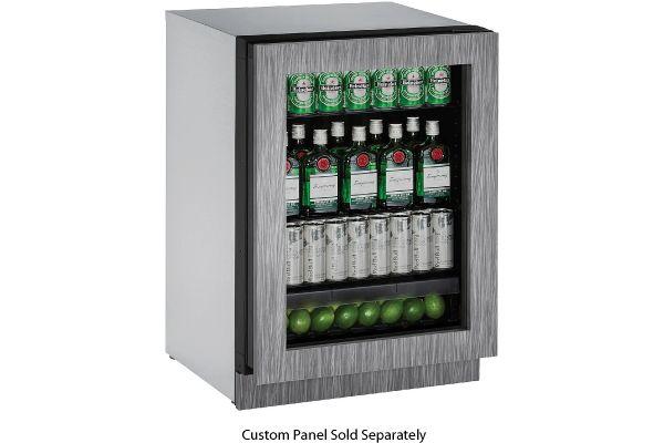"Large image of U-Line 24"" 2000 Series Panel Ready Refrigerator - U-2224RGLINT-00B"