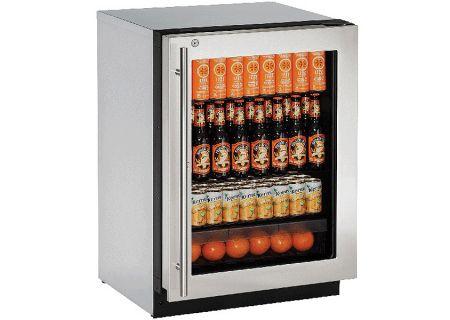 U-Line - U-2224RGLS-13B - Compact Refrigerators