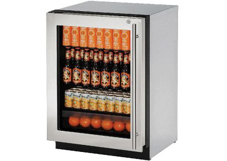 U-Line - U-2224RGLS-15B - Compact Refrigerators
