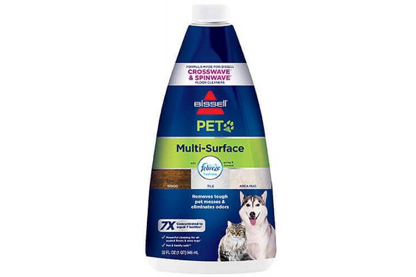 Large image of Bissell 32 Oz Multi-Surface Pet w/ Febreze Freshness For Crosswave Cleaning Formula - 2295