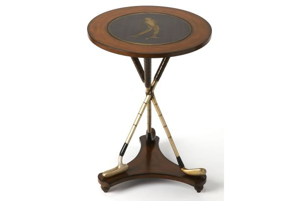 Large image of Butler Specialty Company Nineteenth Hole Heritage Accent Table - 2302070