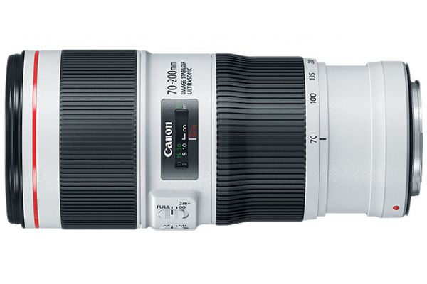 Large image of Canon EF 70-200mm F/4L IS II USM Full Frame Telephoto Zoom Camera Lens - 2309C002