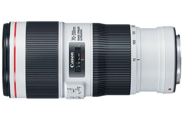 Large image of Canon EF 70-200mm F/4L IS II USM Full Frame Telephoto Zoom Camera Lens - 2309C002