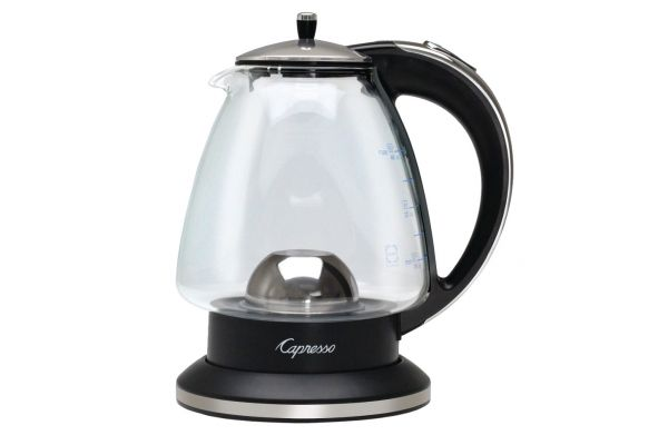 Large image of Capresso H2O Glass Water Kettle - 24003C
