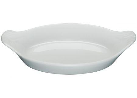 Pillivuyt Petite Porcelain Oval Eared Gratin - 240317