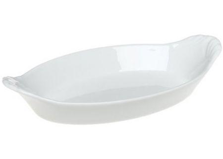 Pillivuyt Porcelain Oval Eared Gratin - 240328