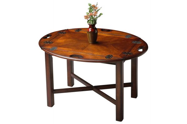 Large image of Butler Specialty Company Carlisle Plantation Cherry Accent Table - 2427024