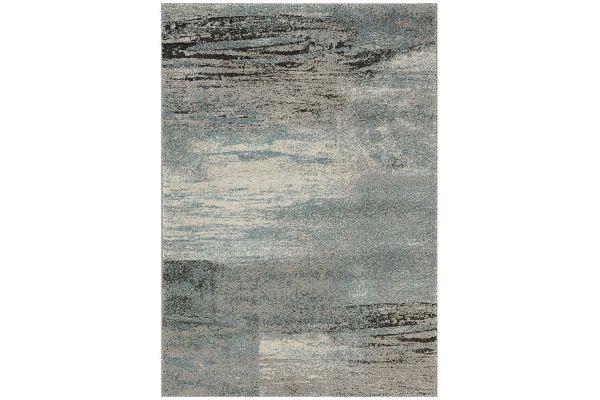 """Large image of Kalora Breeze 6'7"""" X 9'6"""" Blue Blend Rug - 2495/1324 200290"""