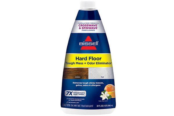 Large image of Bissell 32 Oz Hard Floor Tough Mess + Odor Eliminator - 2504