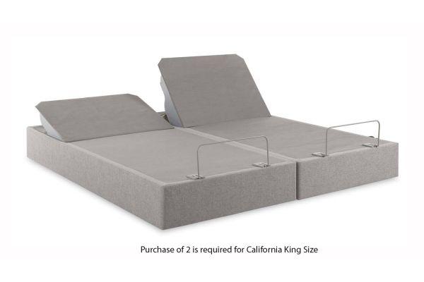 Tempur-Pedic TEMPUR-Up Grey Split California King Size Foundation (1 Piece) - 25287190