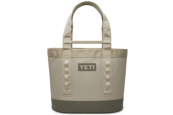 Large image of YETI Camino Carryall 35 Everglade Sand Tote Bag - 26010000002