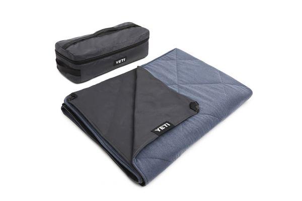Large image of YETI Smoke Blue Lowlands Blanket - 26010000021