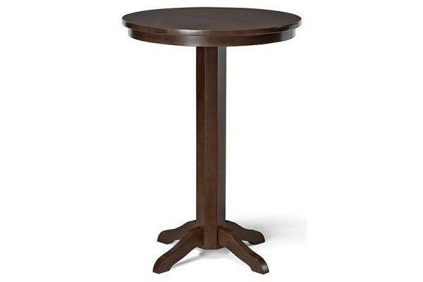 Brunswick Espresso Traditional Pub Table - 26114022000
