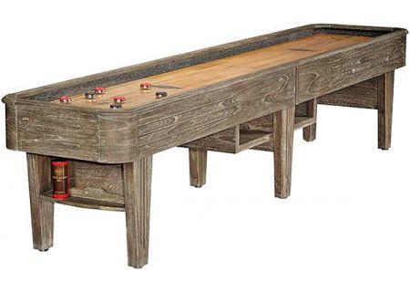 "Brunswick Andover II 14"" Driftwood Shuffleboard Table - 26137430000"