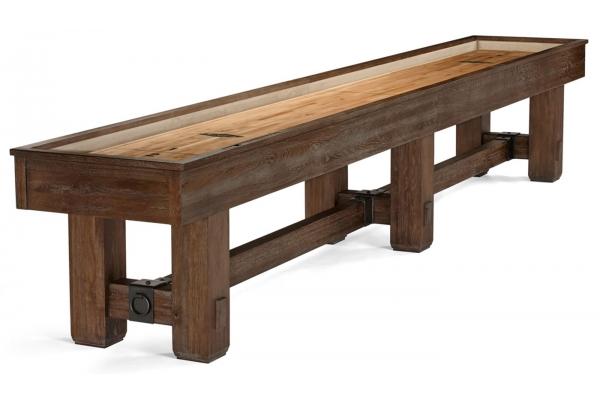 Large image of Brunswick Merrimack 14' Nutmeg Shuffleboard - 26140400000