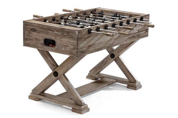 Large image of Brunswick Brixton Driftwood Foosball Table - 26142011000