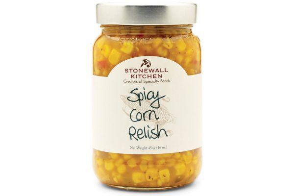 Large image of Stonewall Kitchen Spicy Corn Relish - 261608