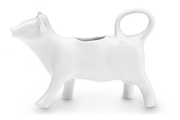 Large image of Pillivuyt 4 Oz Porcelain Cow Creamer - 270101BL