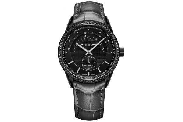 Large image of Raymond Weil Freelancer Black Diamond Automatic Womens Watch - 2778-BKS-20001