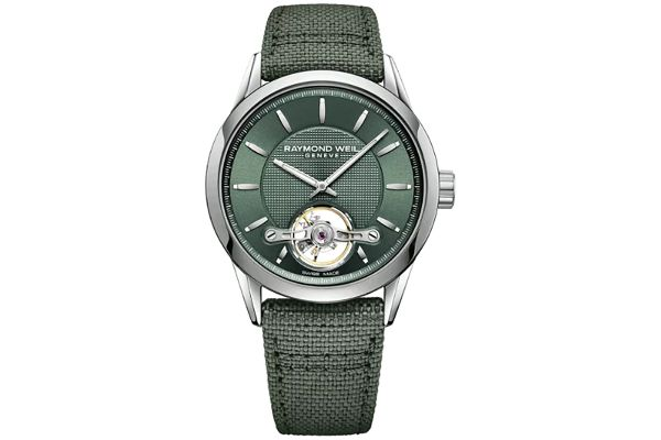 Large image of Raymond Weil Freelancer Green Dial Automatic Mens Watch - 2780STC52001