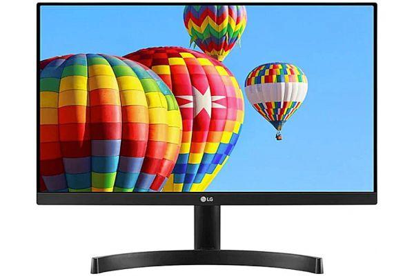 "Large image of LG 27"" Black Full HD Gaming Monitor With FreeSync - 27MK600MBAUS"
