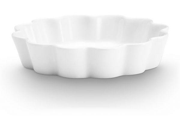 "Large image of Pillivuyt 11"" Patisserie Tart & Flan Dish - 284829BL"