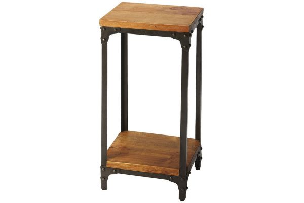 Large image of Butler Specialty Company Grimsley Industrial Chic Pedestal Stand - 2874330