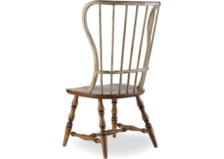 Hooker Furniture Medium Wood Dining Room Sanctuary Side Chair - 3001-75310