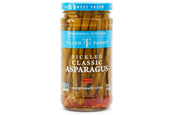 Large image of Stonewall Kitchen Spicy Pickled Asparagus - 300101