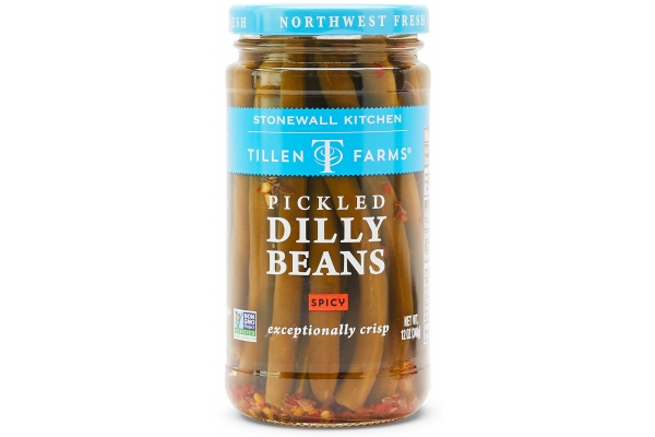 Large image of Stonewall Kitchen Pickled Hot & Spicy Dilly Beans - 300104