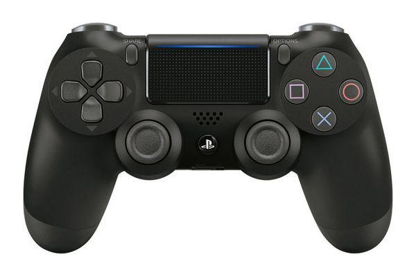 Sony PlayStation 4 DualShock 4 Jet Black Wireless Controller - 3001538