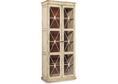 Hooker Furniture Dune Living Room Sanctuary Two-Door Thin Display Cabinet  - 3002-50002