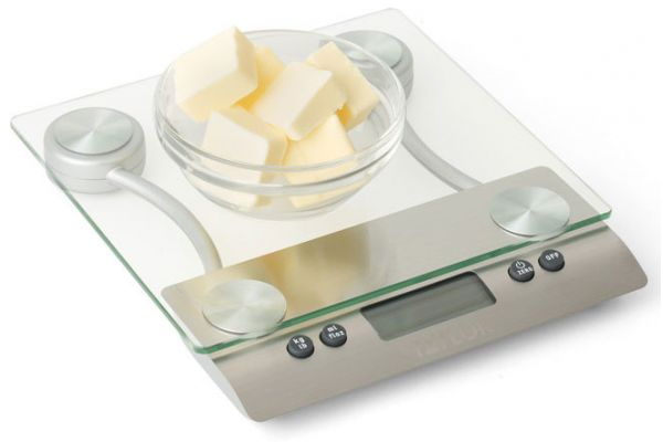 Taylor Glass Electronic Digital Kitchen Scale - 3003TP