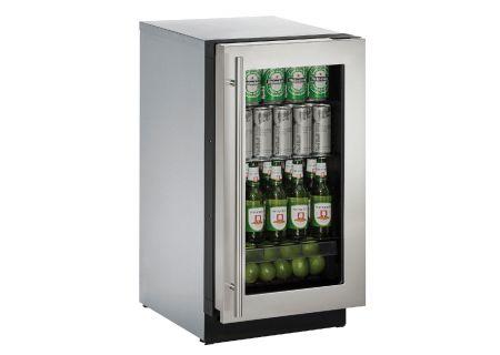 U-Line - U-3018RGLS-00B - Compact Refrigerators