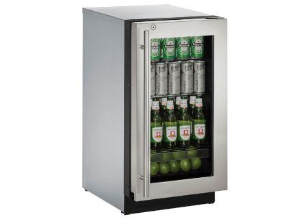 U-Line - U-3018RGLS-13B - Compact Refrigerators
