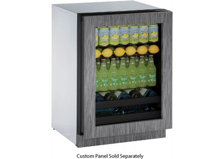 "U-Line 24"" Modular 3000 Series Panel Ready Beverage Center - U-3024BEVINT-00B"