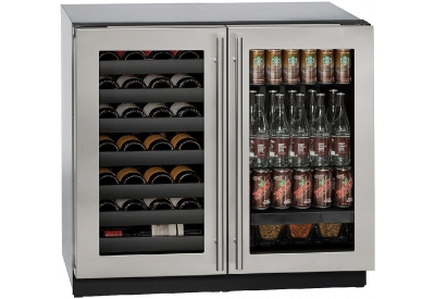 U-Line - U-3036BVWCS-00B - Wine Refrigerators and Beverage Centers
