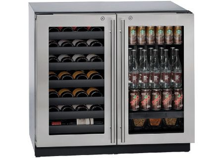 U-Line - U-3036BVWCS-13B - Wine Refrigerators and Beverage Centers