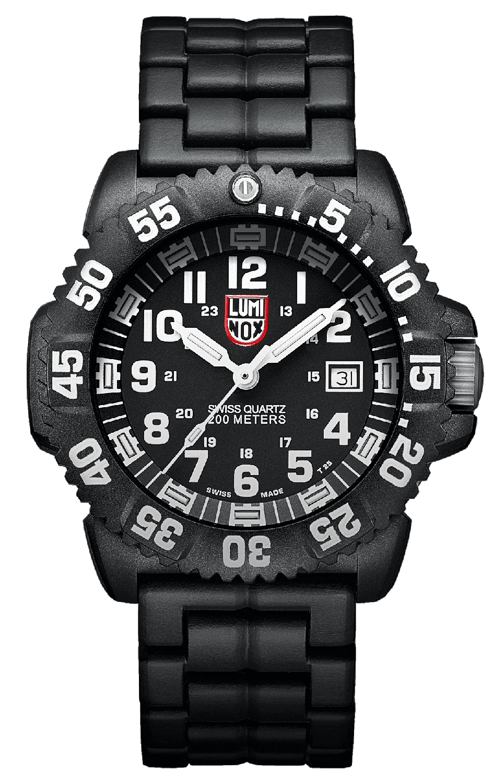 Luminox Navy Seal Colormark Black Mens Watch 3052
